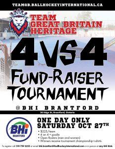team gb fundraiser tournament