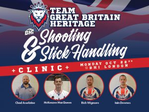 Team Great Britain Learning Clinic Banner