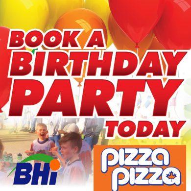 BHI Pizza Party with Hockey