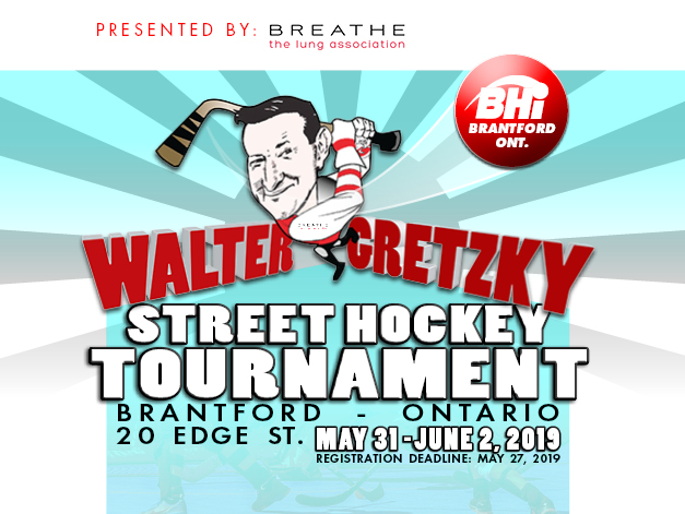 Walter Gretzky Street Hockey Tournament Bhi London